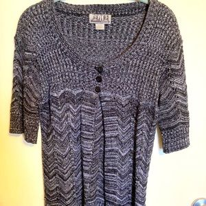 212 NY CUTE three-button cardigan sweater-size S